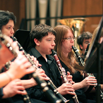 Music in the Air Chapel hosts wind emsemble performance