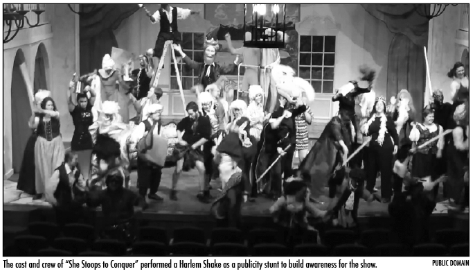 Do the Harlem Shake: Dance meme craze comes to Piedmont in multiple departments