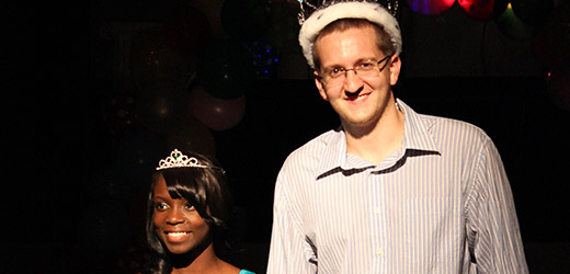 Congratulations to Mr. and Mrs. Piedmont 2013 seniors Aaron Thrams and Lydie Koffi.