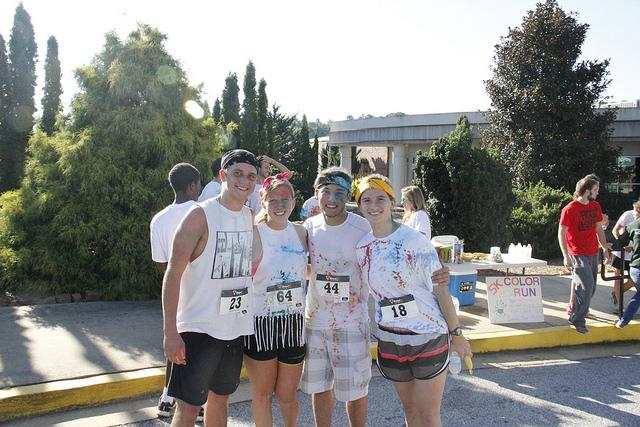 Color Run at Piedmont College [VIDEO]