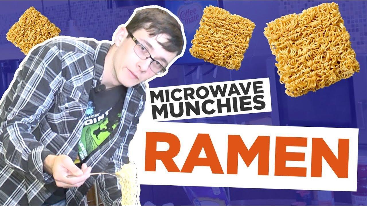 MICROWAVE MUNCHIES EPISODE 1: RAMEN