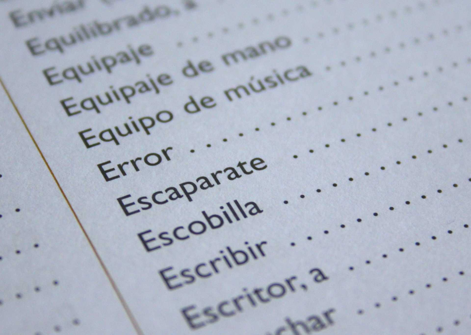 PIEDMONT DROPS SPANISH PROGRAM