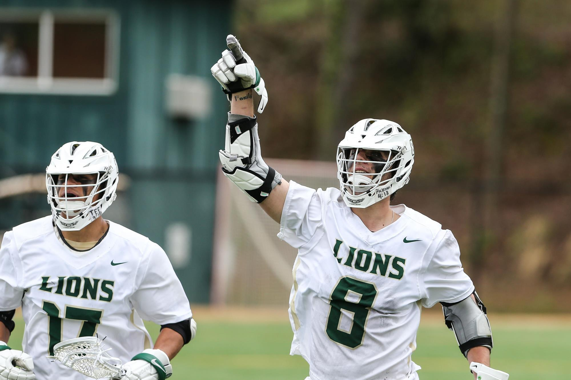 MEN'S LACROSSE FINISHES SECOND IN USA SOUTH