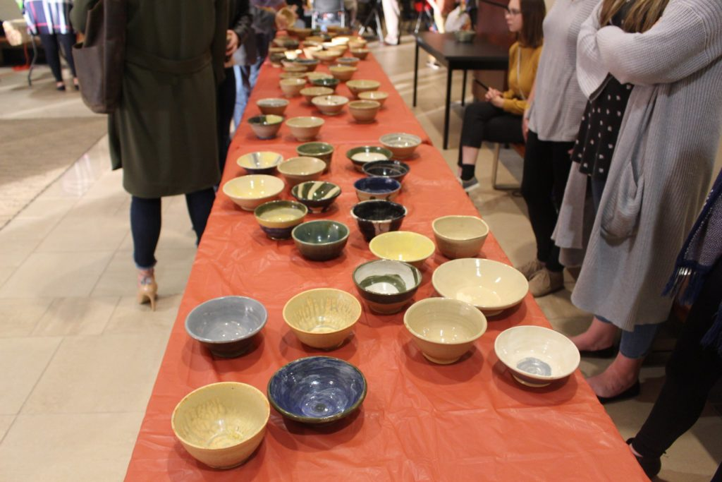 Piedmont Hosts 10th Annual Empty Bowls
