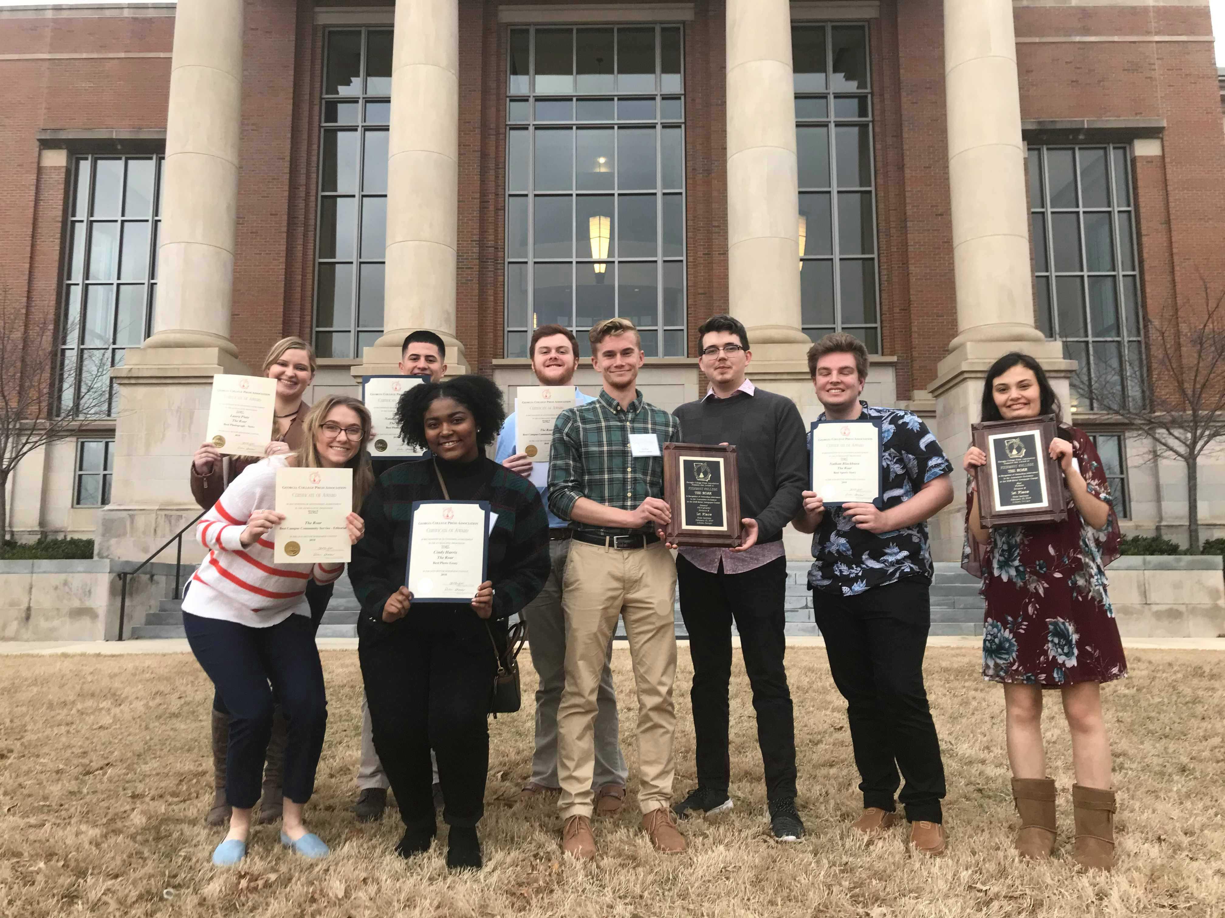 The Roar Wins Seven Awards at the Georgia College Press Institute