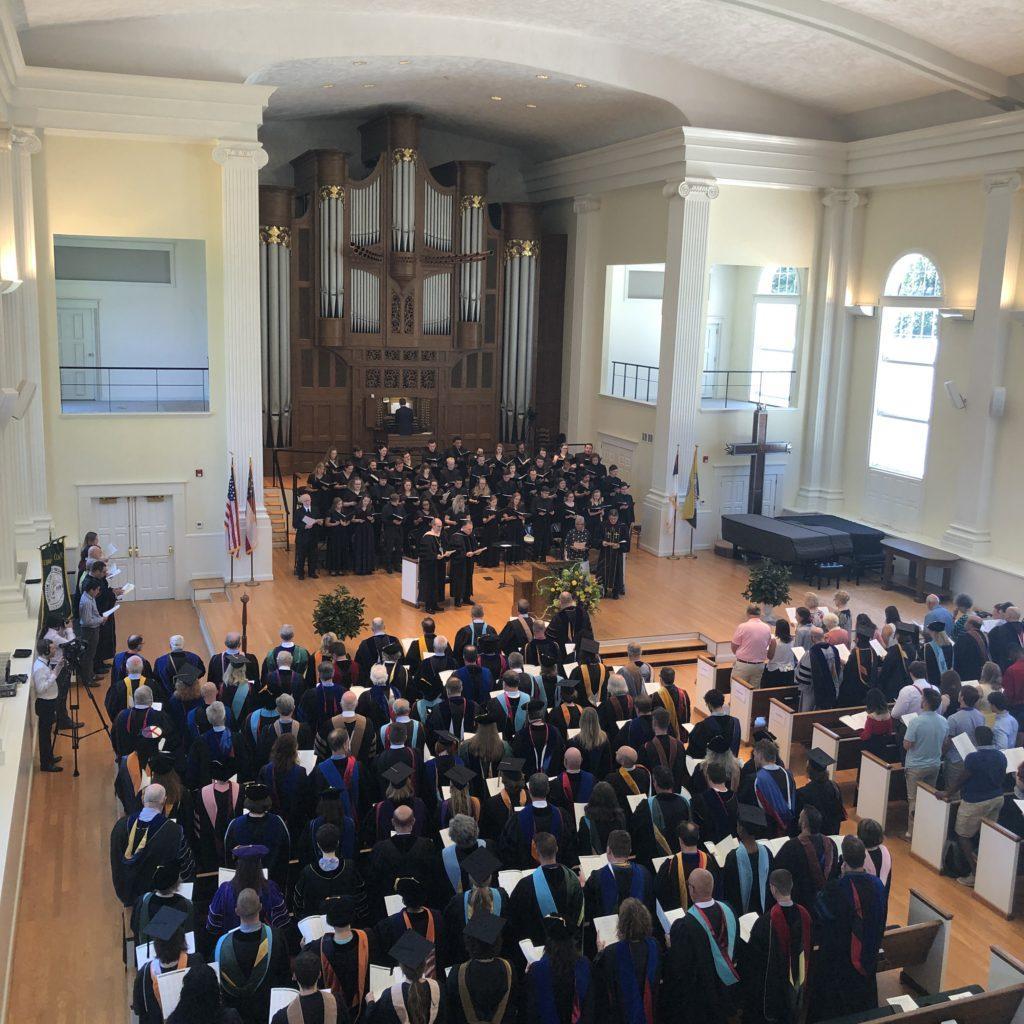 Fall Convocation Returns to Piedmont
