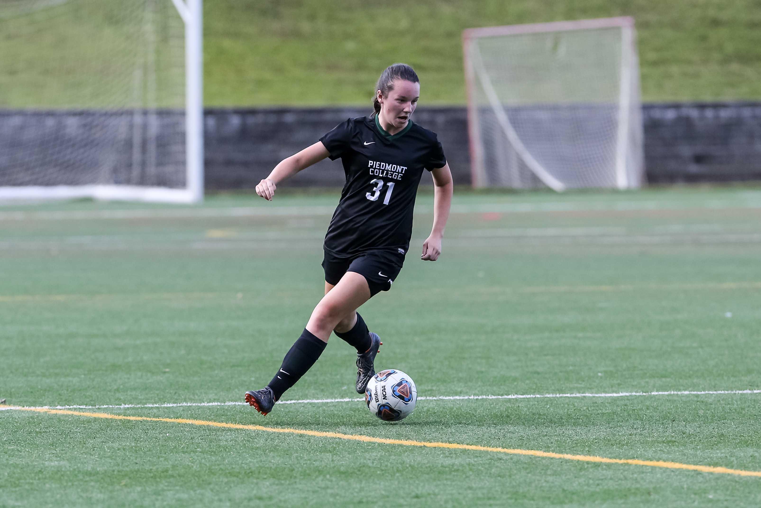Piedmont College Women's Soccer vs Birmingham Southern. (Photo: Karl L. Moore)