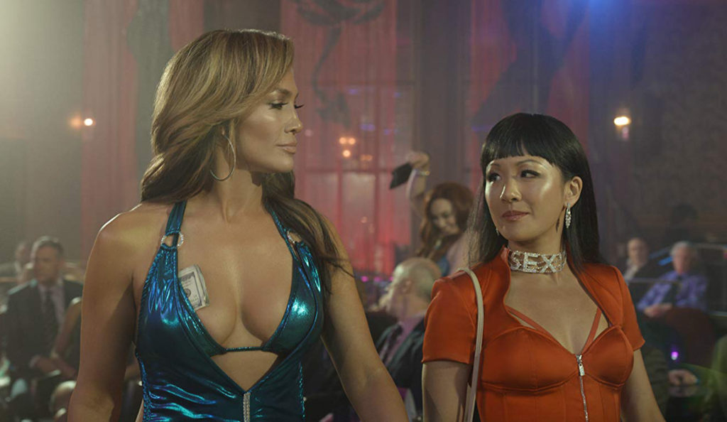 Jennifer Lopez (left) and Constance Wu in