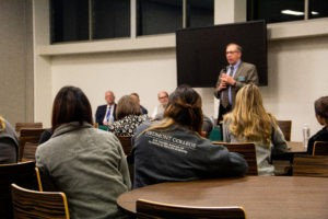 Students Grill Administration at Town Hall