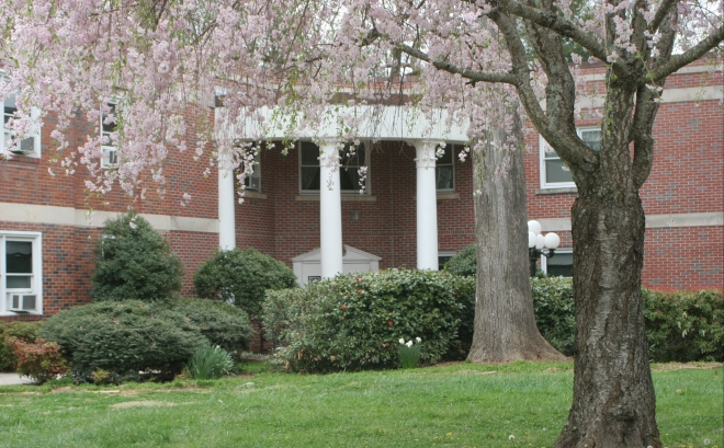 The alleged haunted GB hall of Piedmont College// Piedmont.edu// PHOTO
